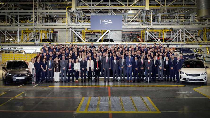 Legördült az első új Opel Corsa a zaragózai gyártósorról