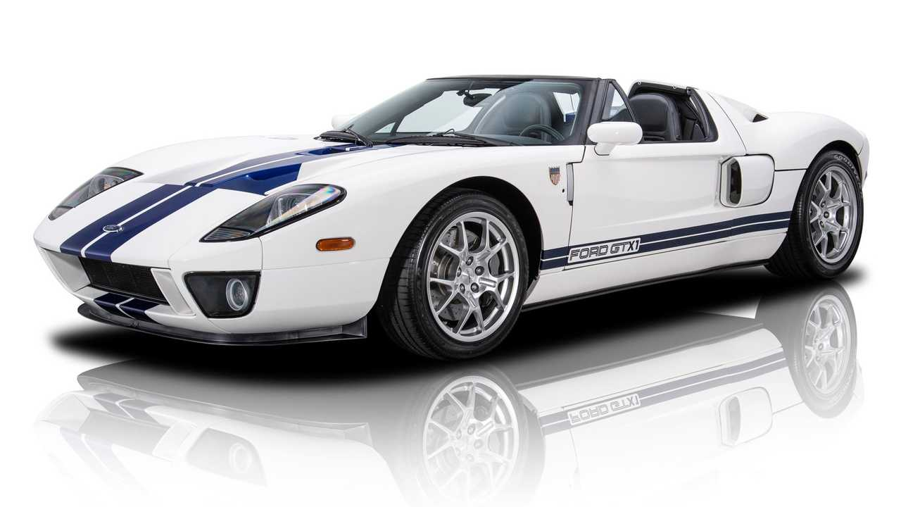 Ultra-Rare 2005 Ford GT GTX1 Roadster For Sale