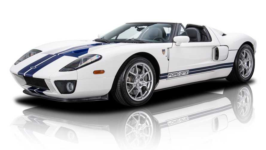 Drop The Top In This 2005 Ford GT GTX1 Roadster For $429K