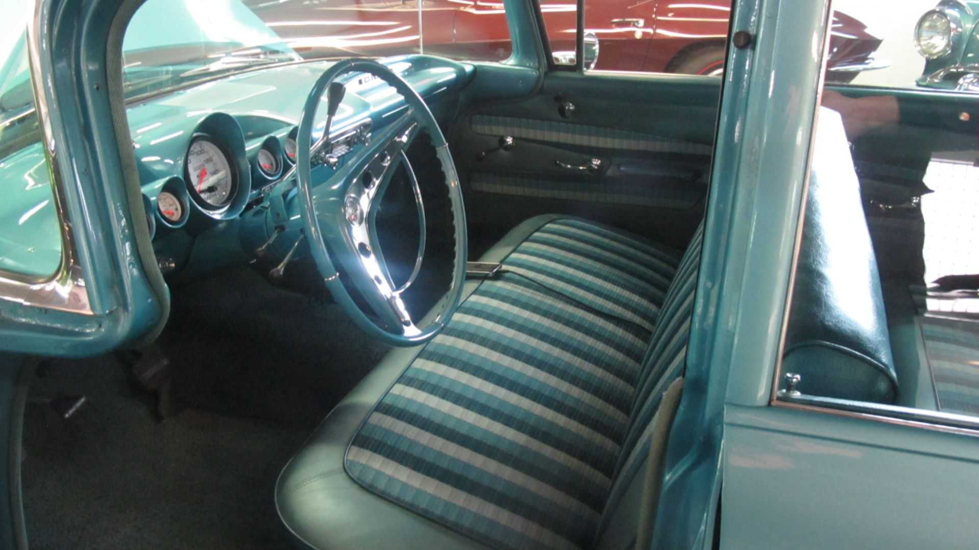 "[""1959 Chevy Brookwood Wagon Boasts Professional Restoration""]"