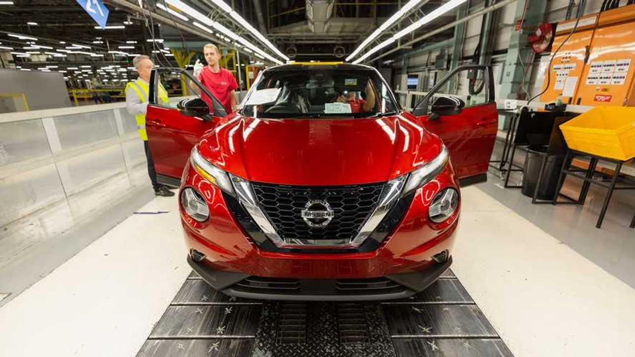 Nissan Juke production at Sunderland UK plant
