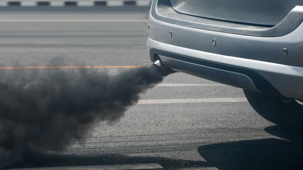 Diesel vehicle exhaust