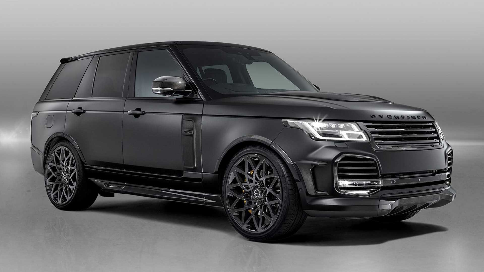 Overfinch Velocity is an opulent £245,000 Range Rover