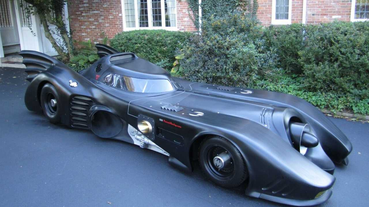 eBay Find: Jet Powered Batmobile Is A Treat, Not A Trick