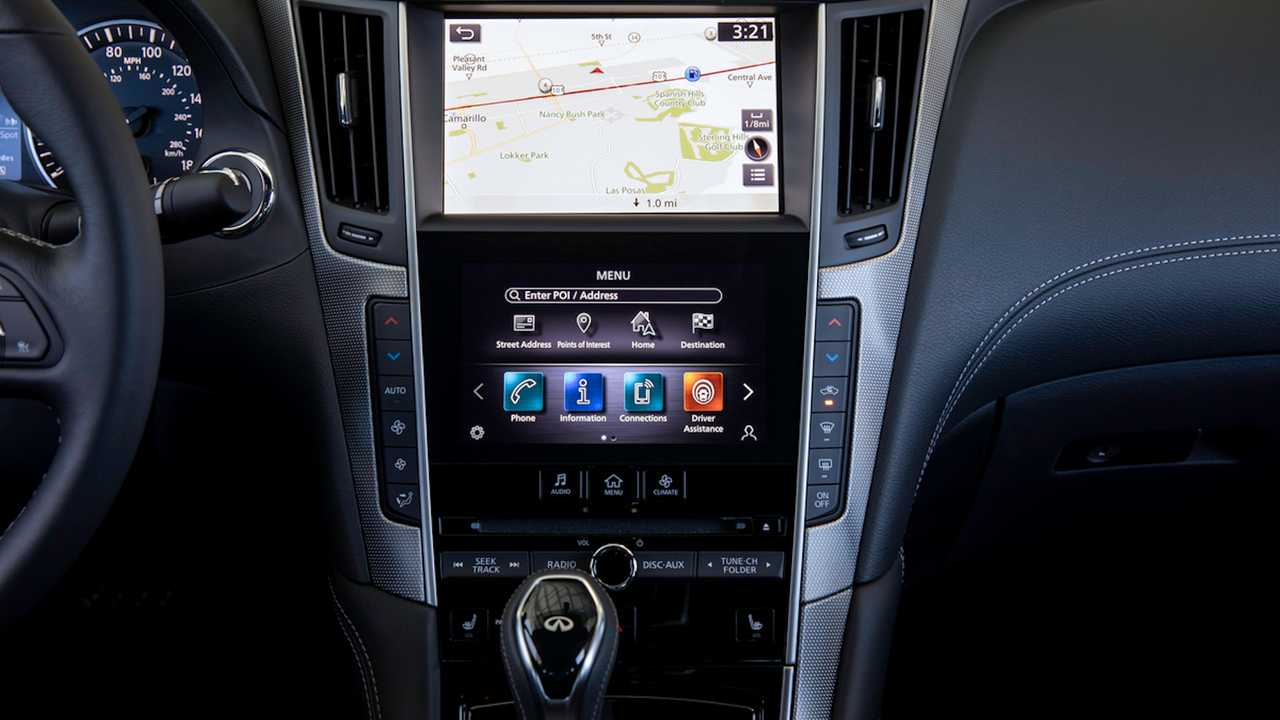 Infiniti Finally Updates Its Infotainment System With Good Graphics, Latest Features