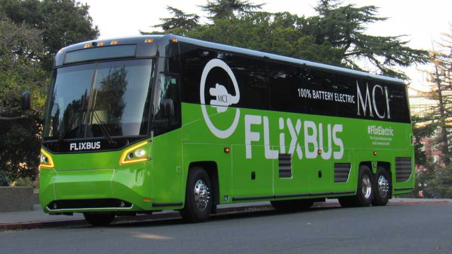 Motor Coach Industries Introduces Electric Coach