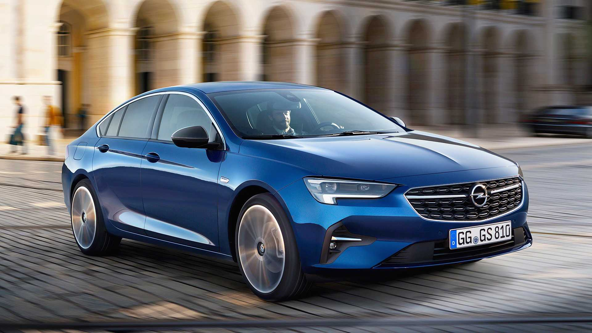 2020 opel insignia gets the mildest of facelifts. Black Bedroom Furniture Sets. Home Design Ideas