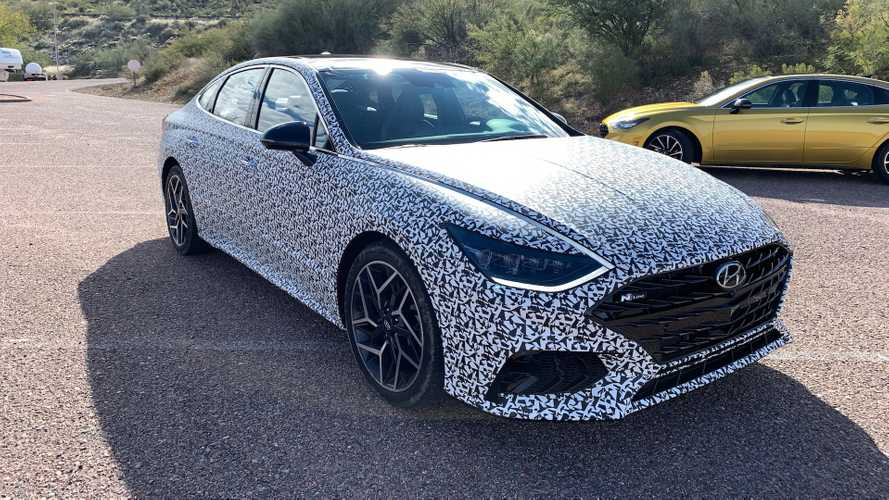 Hyundai Sonata N-Line Coming With 290 HP, Full N Variant Not Happening