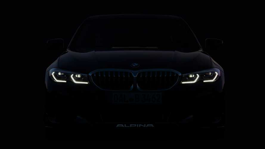 New Alpina B3 Touring teased ahead of Frankfurt Debut