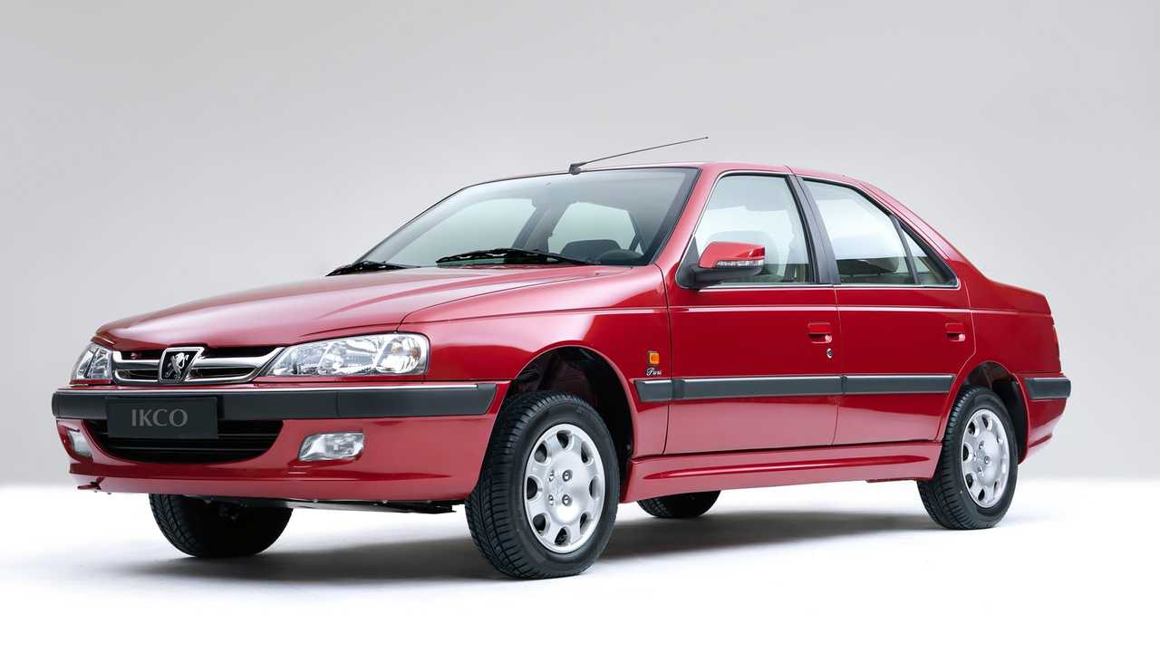 Peugeot 405 de Irán
