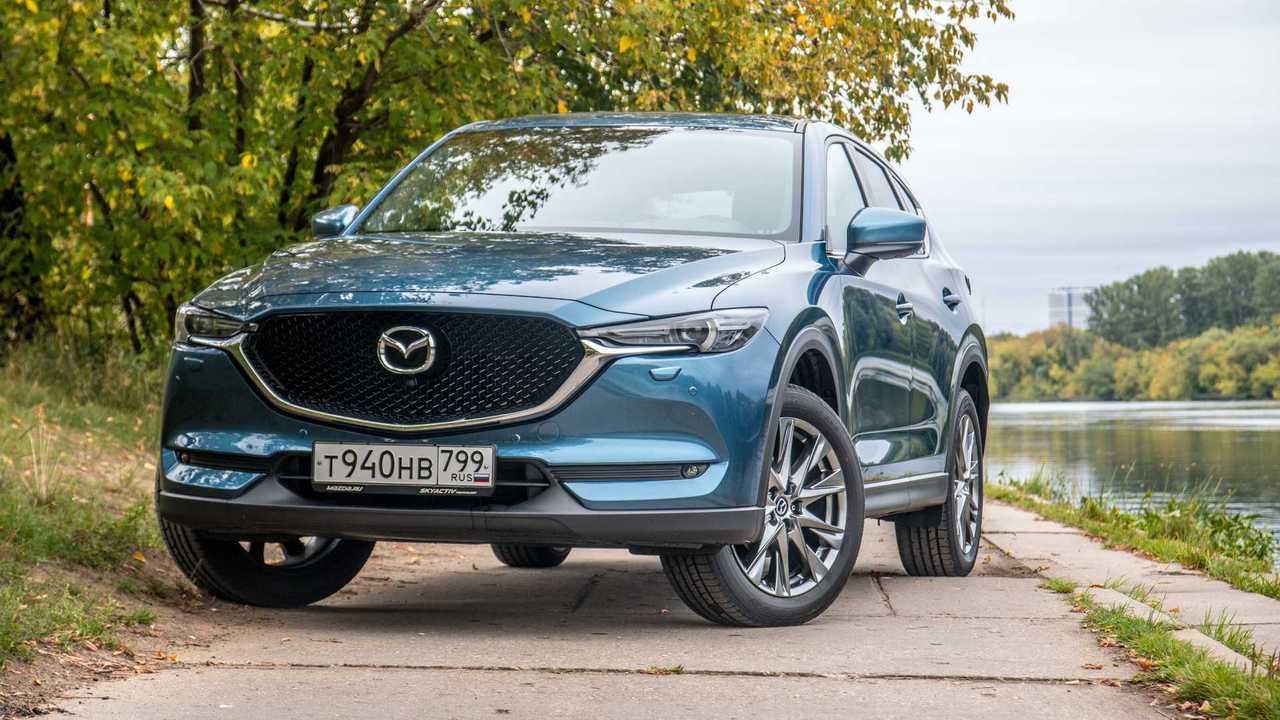 2019 Mazda CX-5 2019 Mazda CX-5 test-drive in Moscow