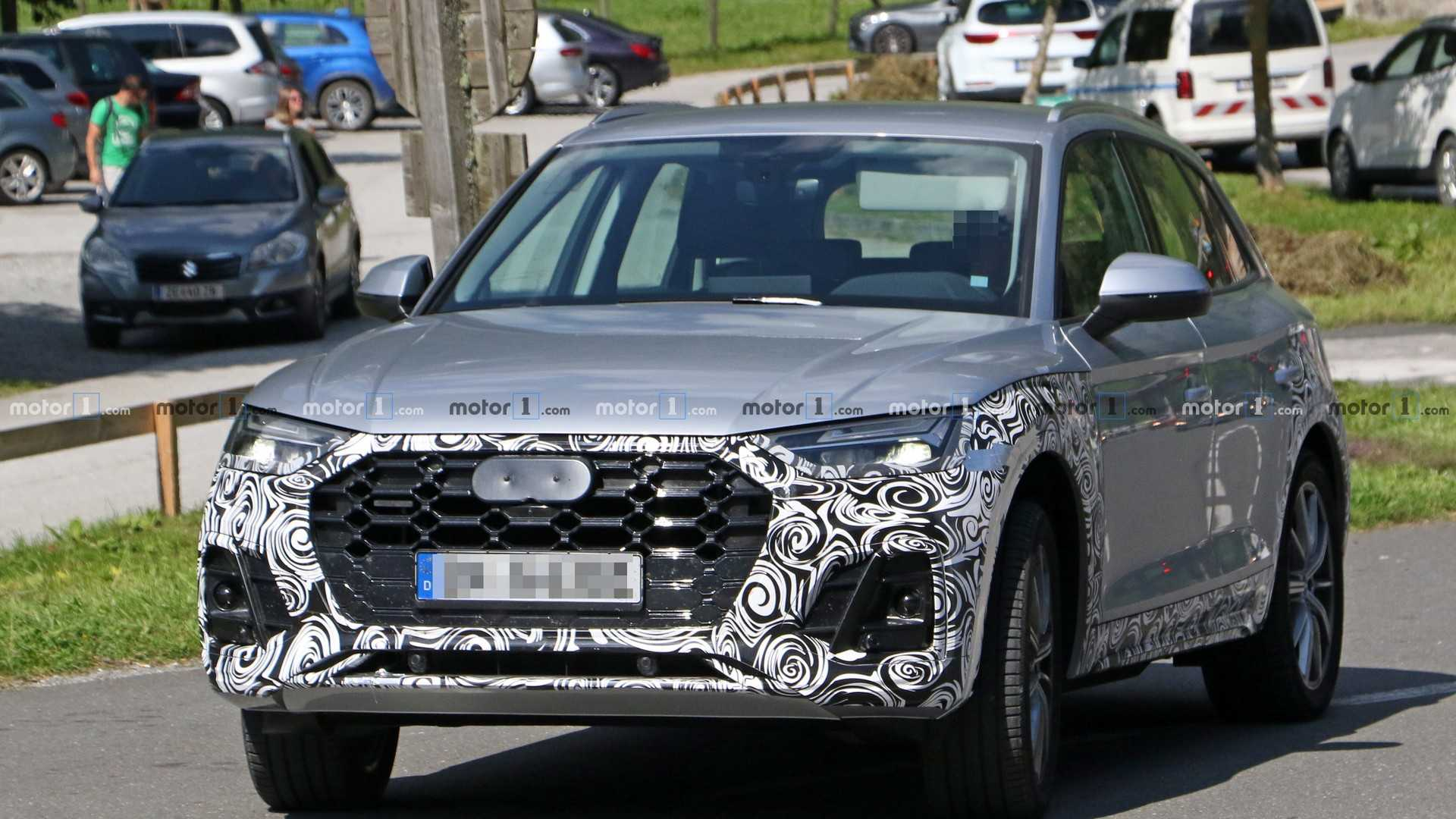 2021 Audi Q5 Facelift Spied Inside And Out Update