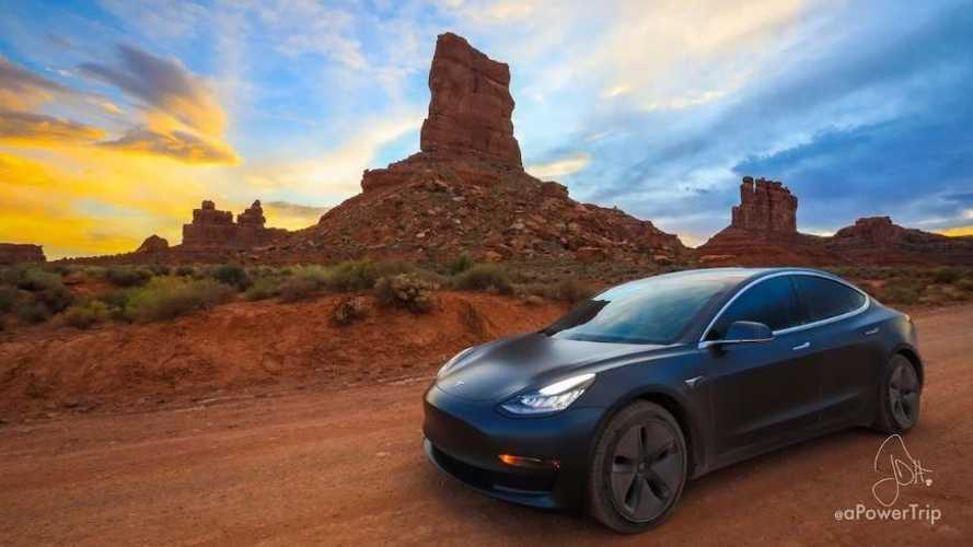 tesla model 3 vally of gods