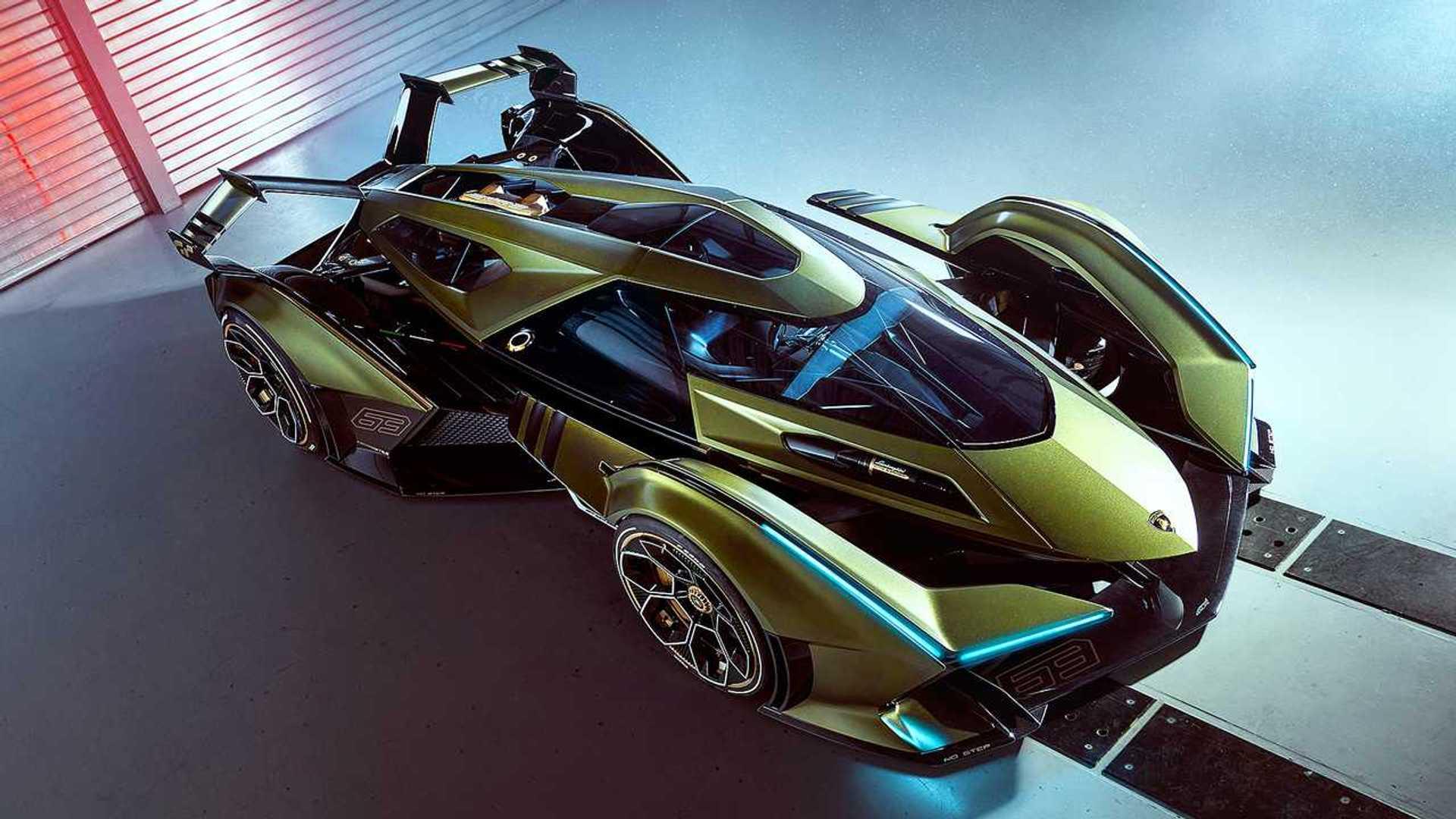 Lambo V12 Vision Gran Turismo Unveiled As \u0027The Best Virtual