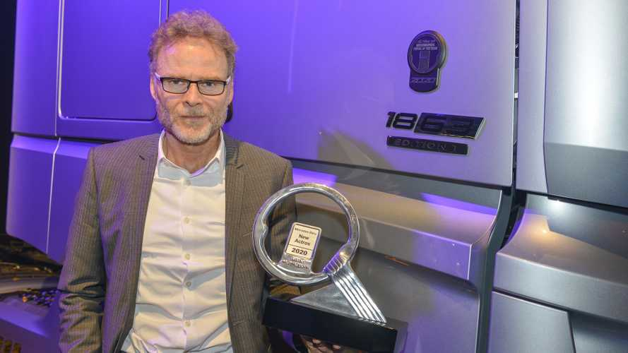 New Mercedes-Benz Actros International Truck Of The Year 2020