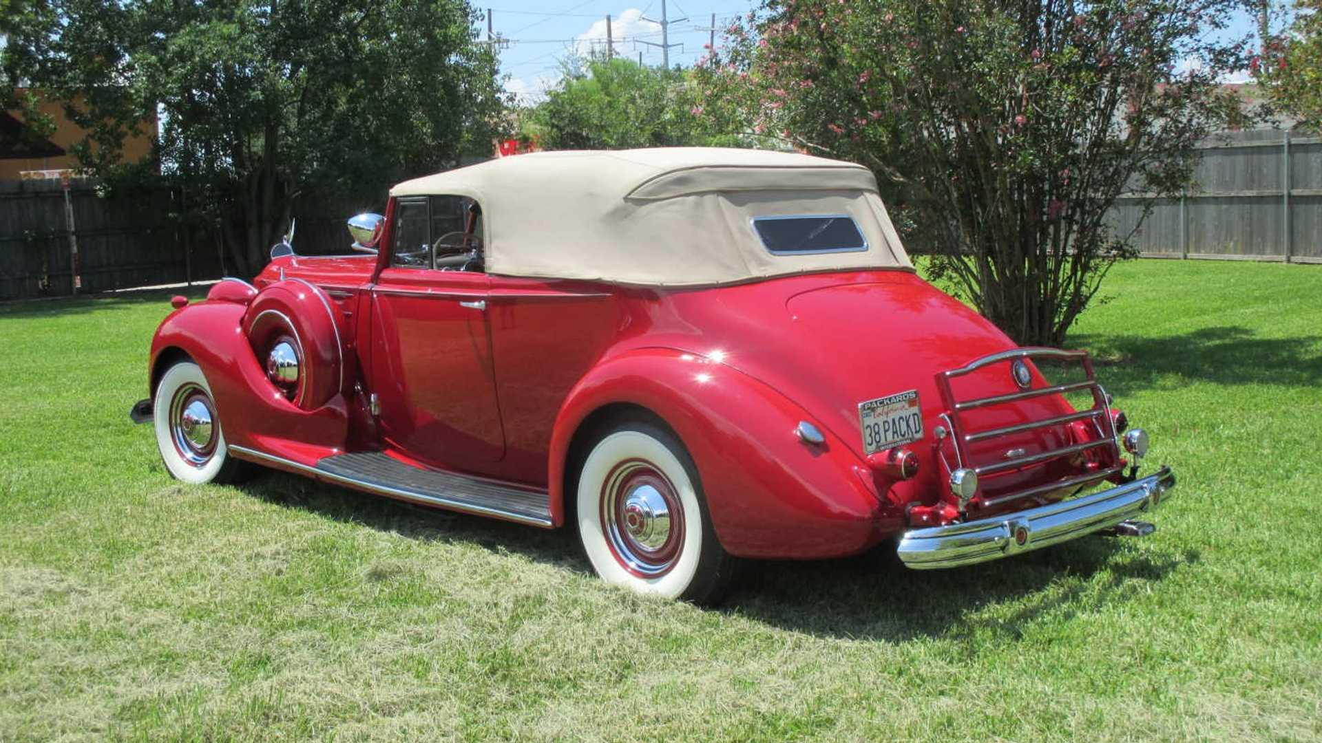 "[""Ultra-Rare 1938 Packard Twelve Victoria Heads To Auction""]"