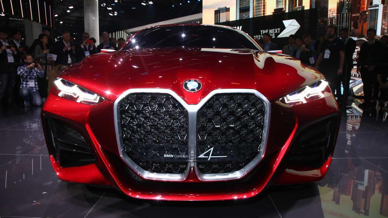 BMW Concept 4: Frankfurt 2019