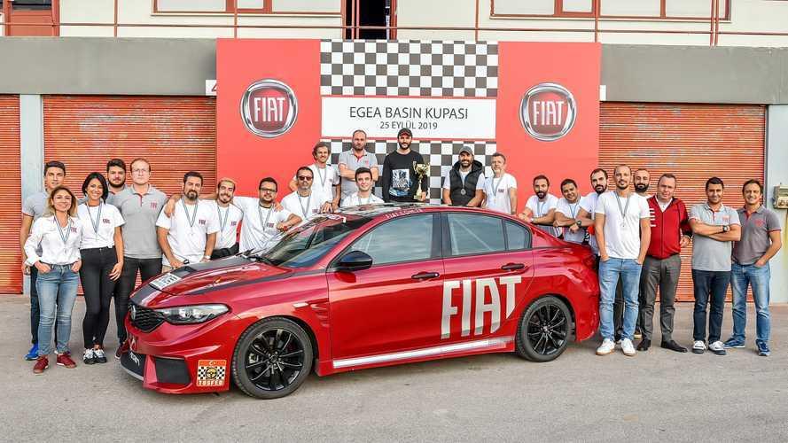 FIAT Egea Basın Kupası heyecanı Körfez pistinde yaşandı!