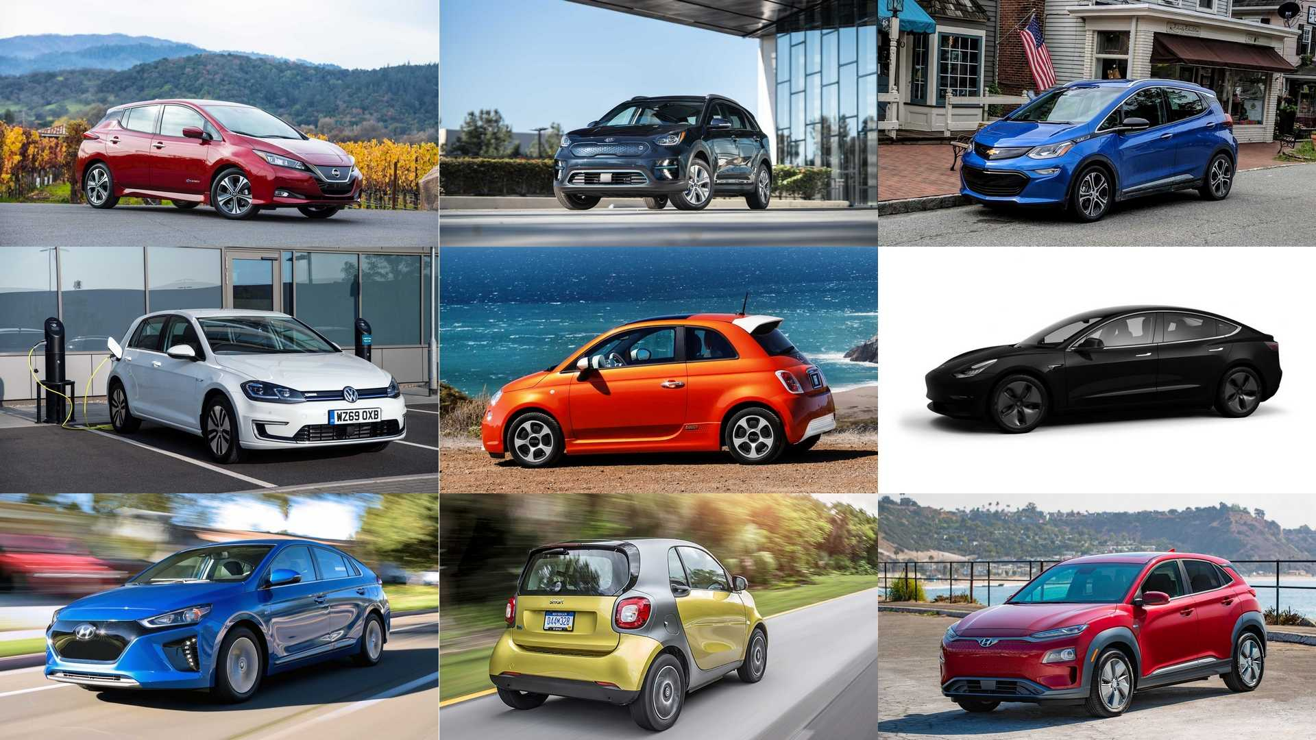The 9 Cheapest Electric Cars