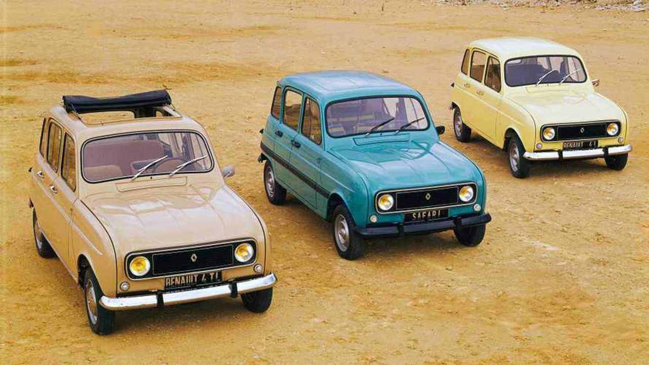 Renault 4, la furgonetta francese