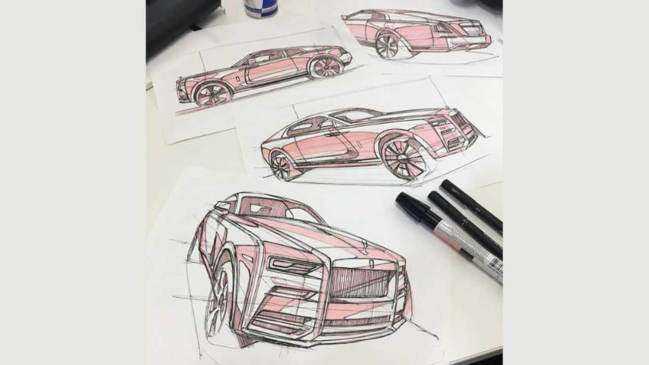 Illustration Rolls-Royce Cullinan Coupé