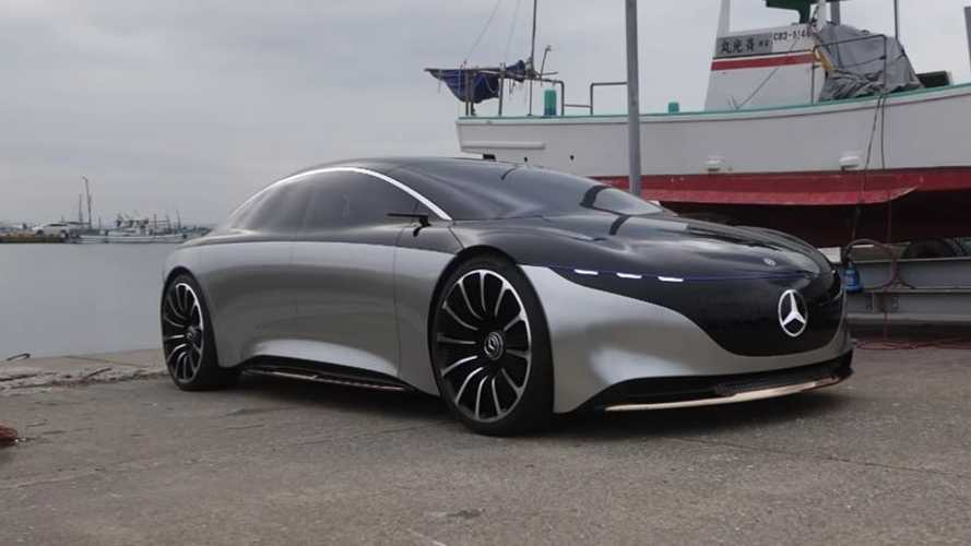 This Mercedes EV Concept May Be The Car That Dreams Are Made Of