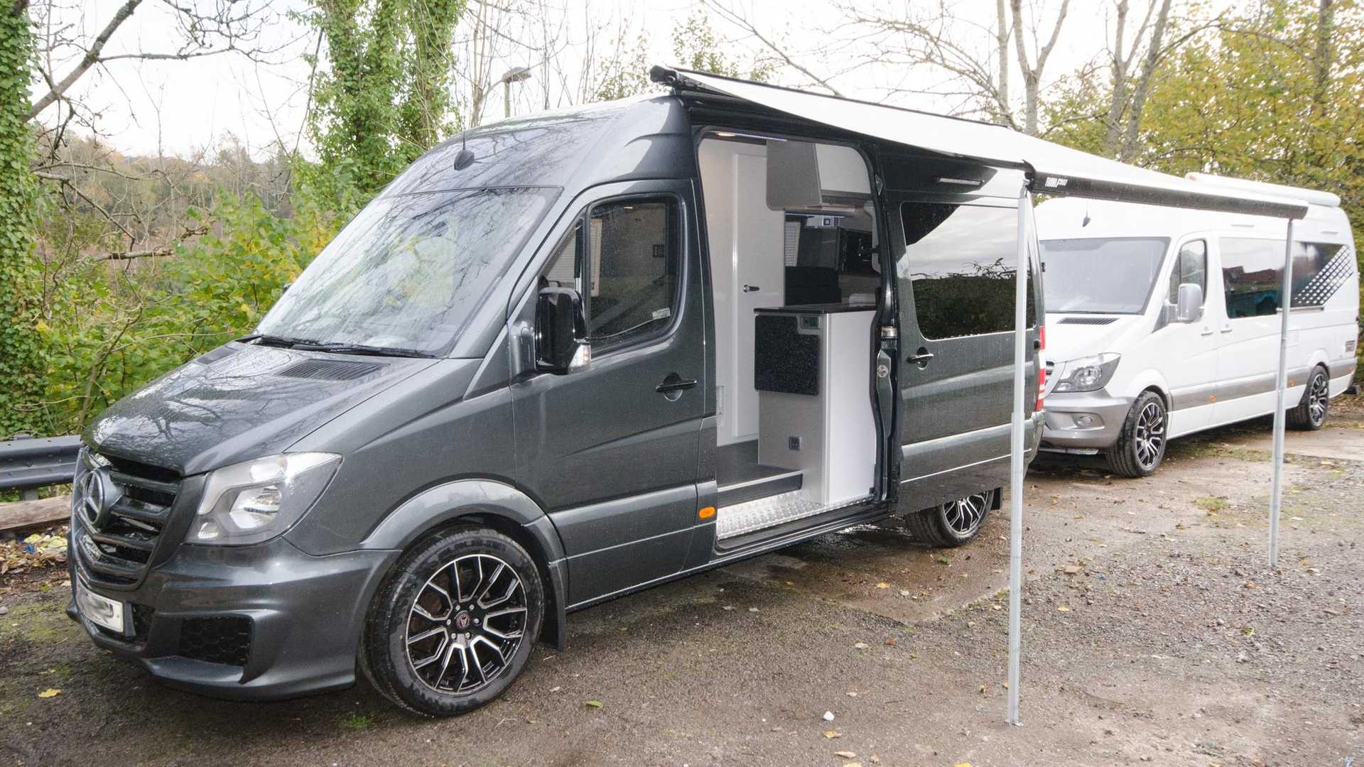 Mercedes Sprinter Rv >> This Custom Mercedes Sprinter Is The Audi Of Camper Vans