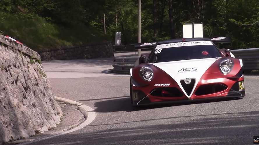 Este Alfa Romeo 4C con motor V8 Judd-Zytek conseguirá hipnotizarte