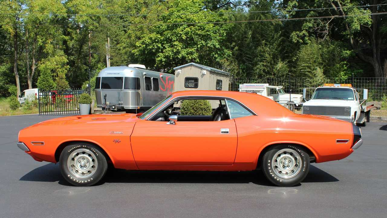 1970 Dodge Challenger R/T In Go Mango Is A Muscle Car Icon