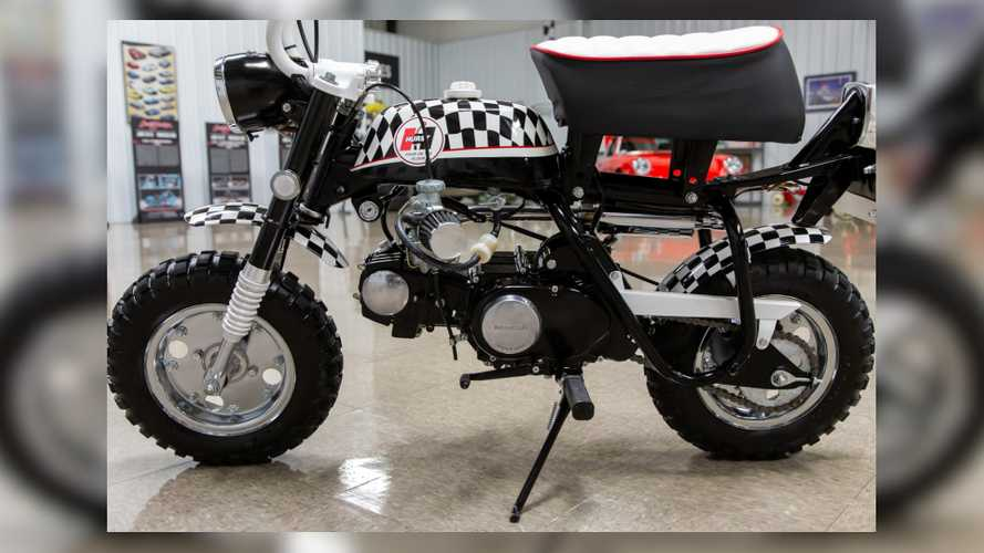 Adorable Custom 1971 Honda Z50A Mini Trail Up For Auction