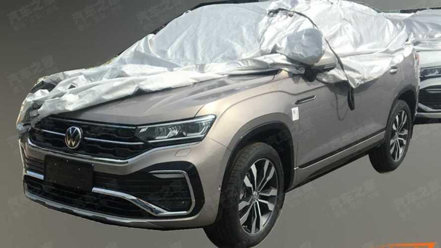 Flagra: VW Tylcon será o 1º SUV-cupê da marca