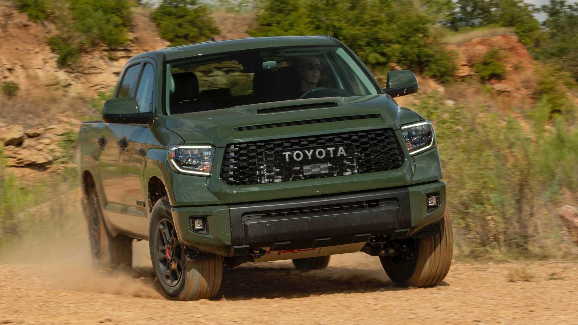 Toyota Tundra Trd Pro 2020 Comparacao Motor1 Com Fotos