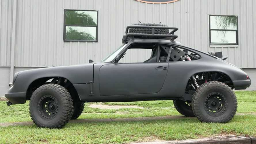 Show Jeeps Who's Boss In A 1969 Porsche 911 Baja