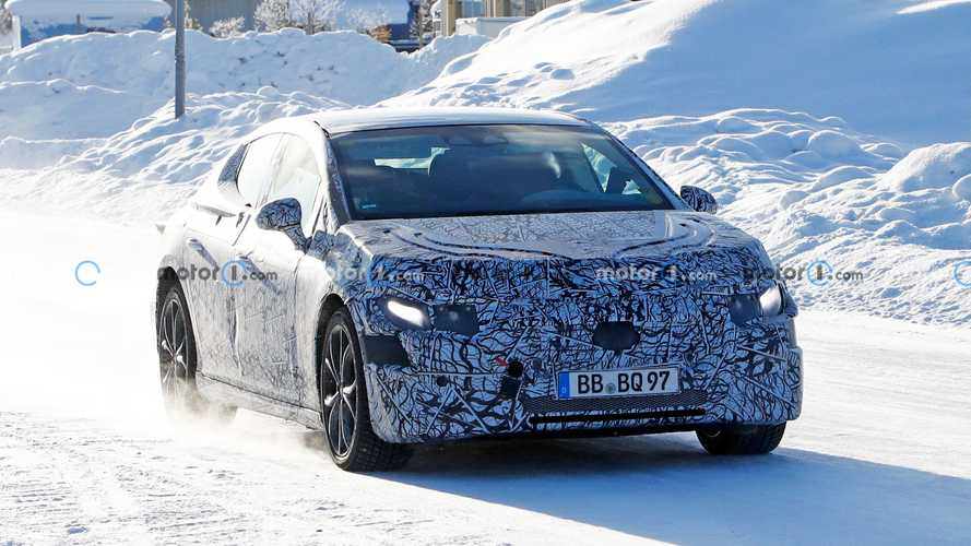Mercedes-Benz EQE new spy photos