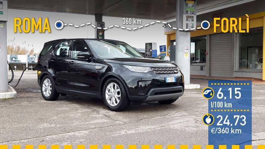 Land Rover Discovery D300 MHEV 2021: prueba de consumo real