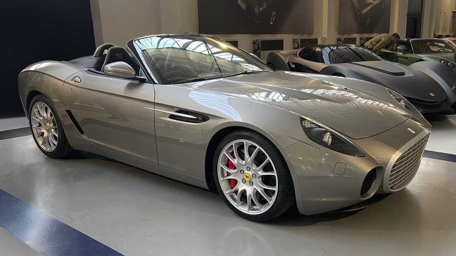 Extremely Rare Ferrari 599 GTZ Nibbio Spyder Zagato Headed For Auction