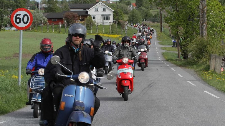 Vespa World Days 2011 - Norvegia