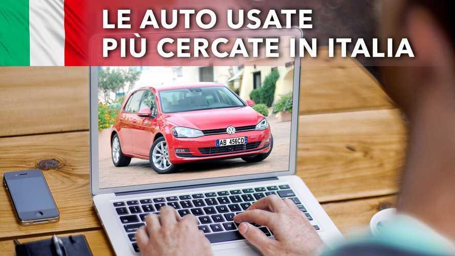 Le auto usate più cercate dagli italiani, in testa c'è ancora la Golf