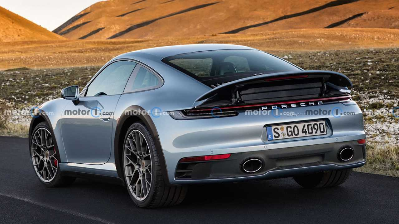 Porsche 911 Safari Render