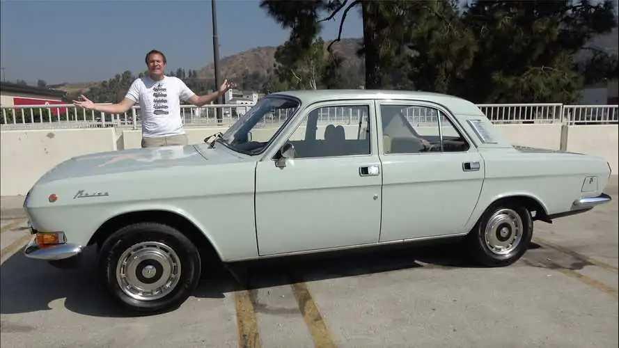 Videó: Mit gondolnak a szovjet autógyártás remekéről, a Volga GAZ-24-10-ről Kaliforniában?