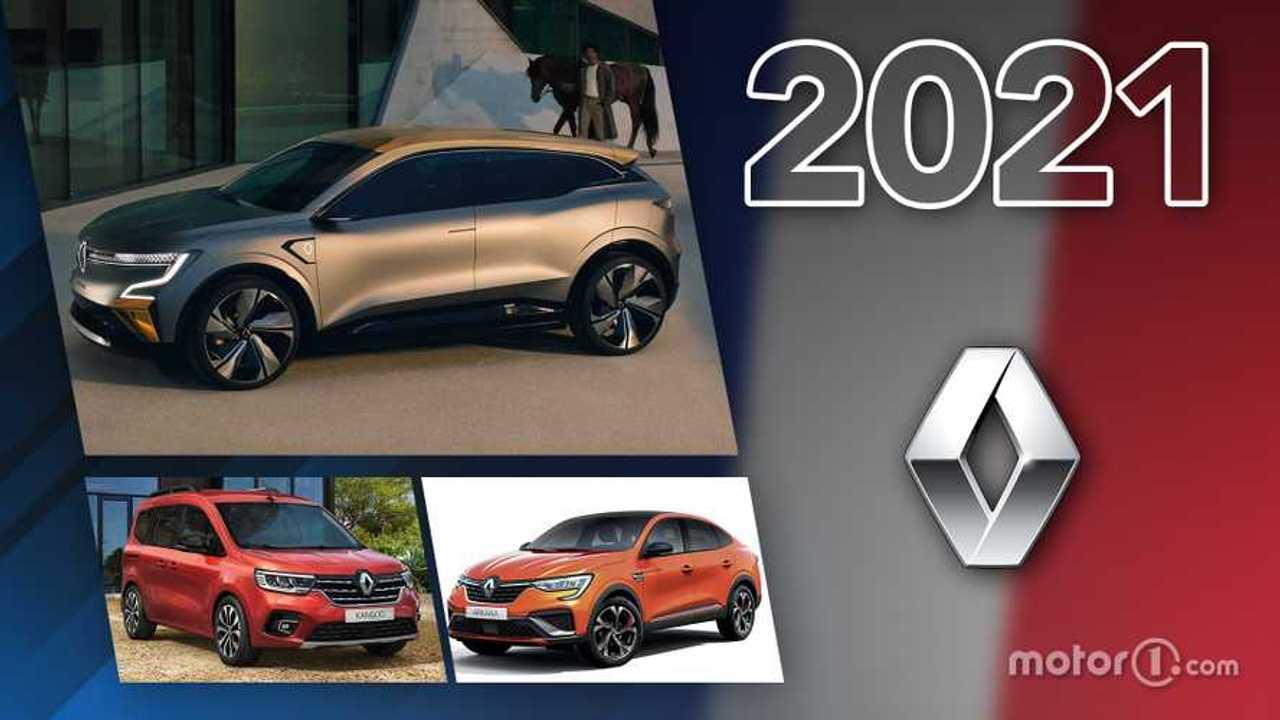 Renault novità 2021