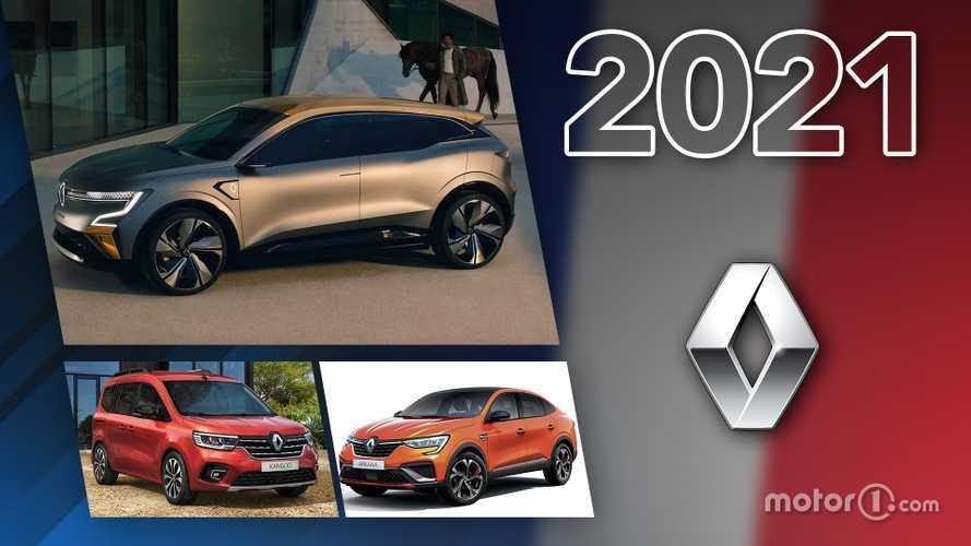 Novità Renault, ecco tutti i modelli in arrivo nel 2021