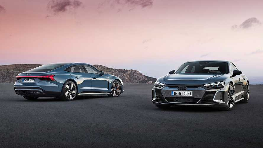 Íme a Porsche Taycan két unokatestvére, az Audi e-tron GT és az RS e-tron GT!