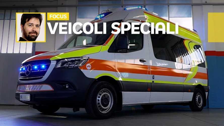 Come e dove nasce Sprinter Life 3, l'ambulanza anti-covid