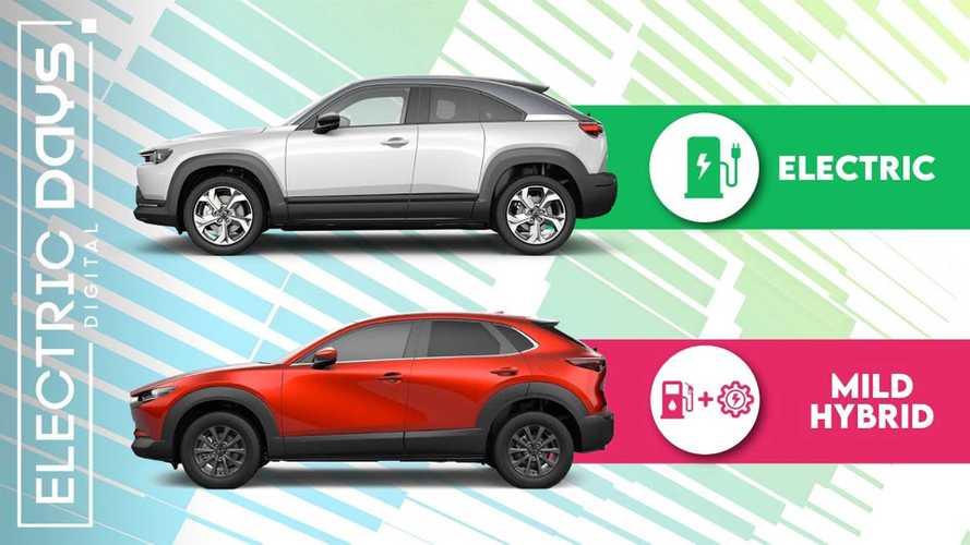 Tutte le Mazda elettrificate, quale scegliere