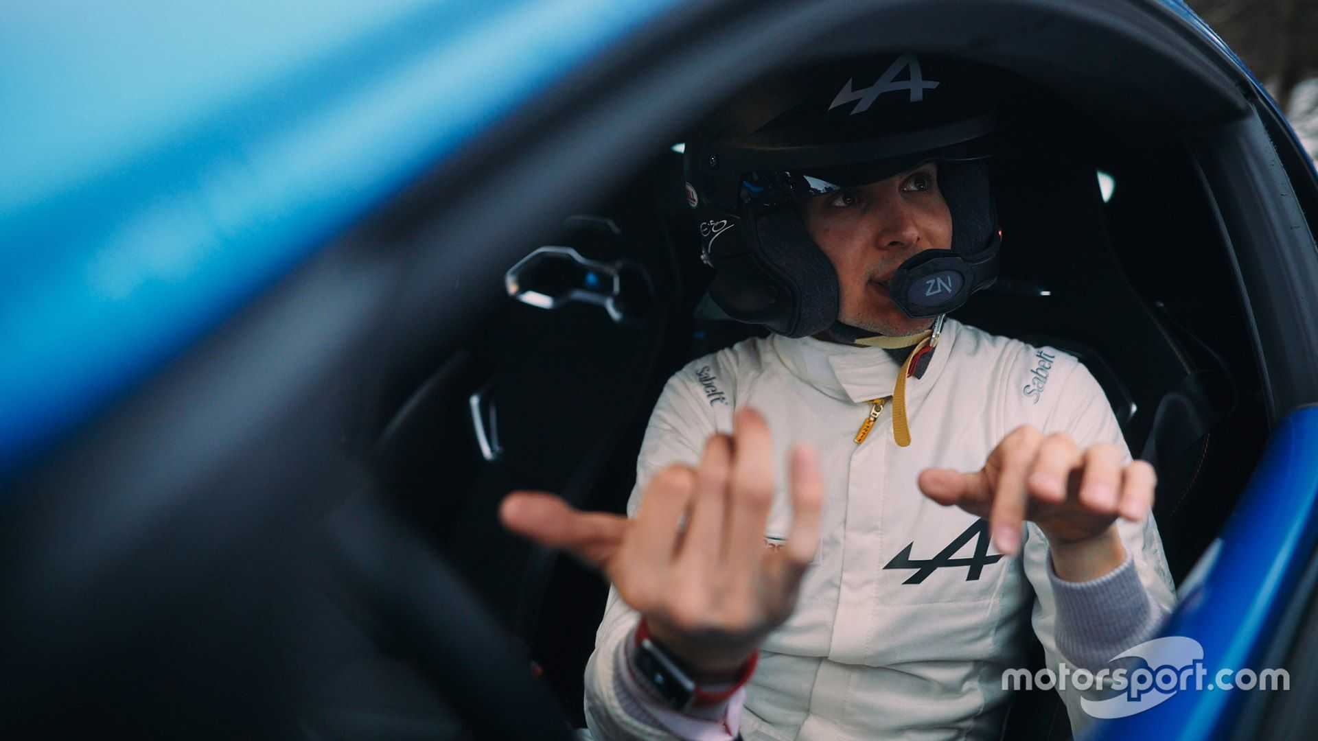 Esteban Ocon: WRC stars must have 'balls of steel'