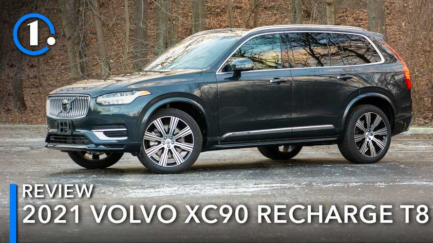 2021 Volvo XC90 Recharge Review: More Tired Than Wired