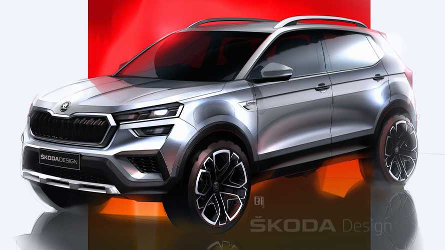 2021 Skoda Kushaq Sketched Out Ahead Of March 18 Reveal