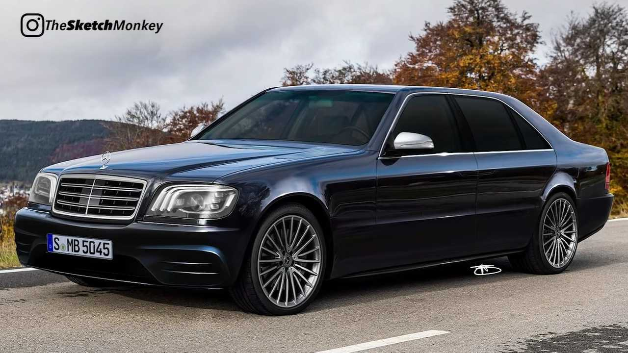Redesigned Mercedes S-Class W140