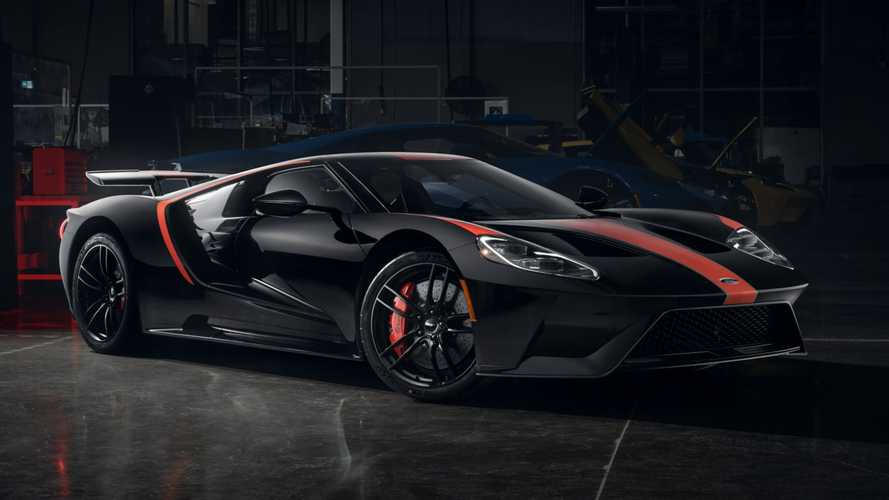 First 2021 Ford GT Studio Edition is black and red all over